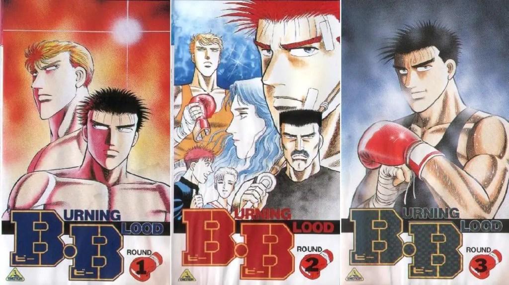 B.B. boxing manga