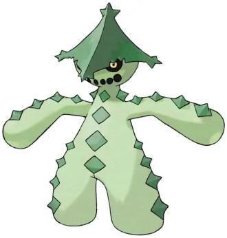 Cacturne dark type pokemon
