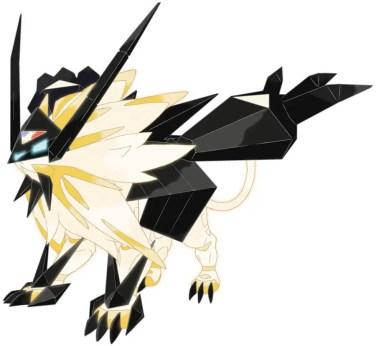 DUSK MANE NECROZMA cat pokemon