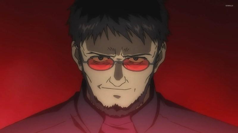 Gendou Ikari From Neon Genesis Evangelion