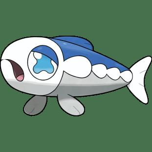 Wishiwashi fish pokemon