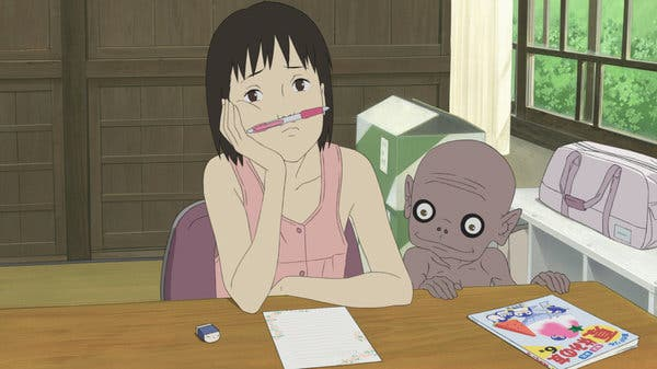 A Letter to Momo Ghost Anime & Paranormal Anime Series
