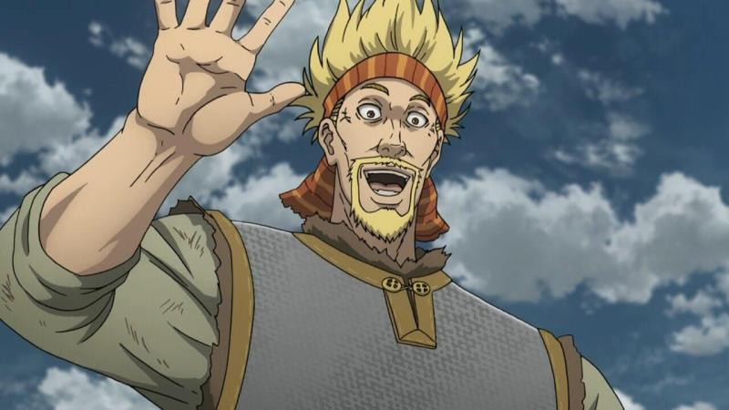 Thorkell the Tall From Vinland Saga