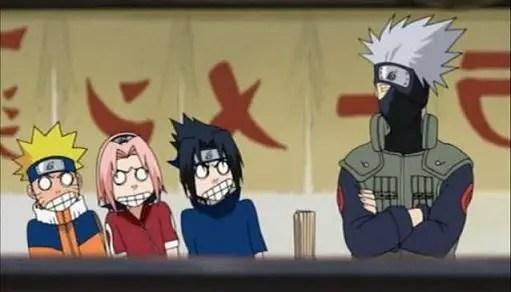 Episode 101 : Gotta See! Gotta Know! Kakashi-Sensei's True Face!