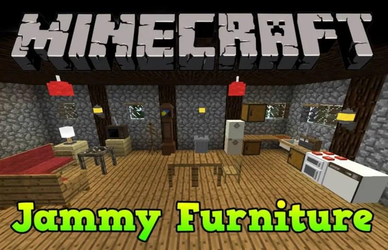 Jammy's Furniture Mod Furniture Mods For Minecraft
