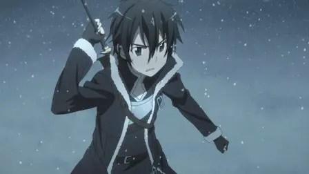 Kirito sao character