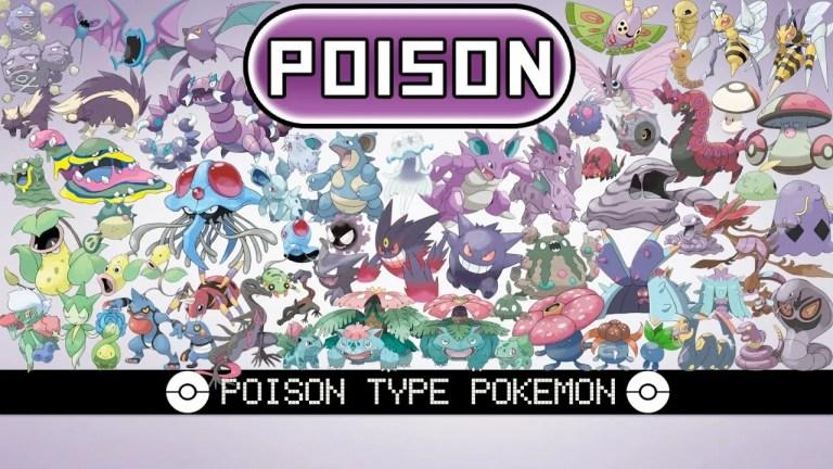 Poison-Type Pokémon