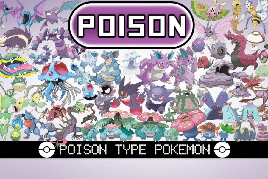 Poison-Type Pokémon