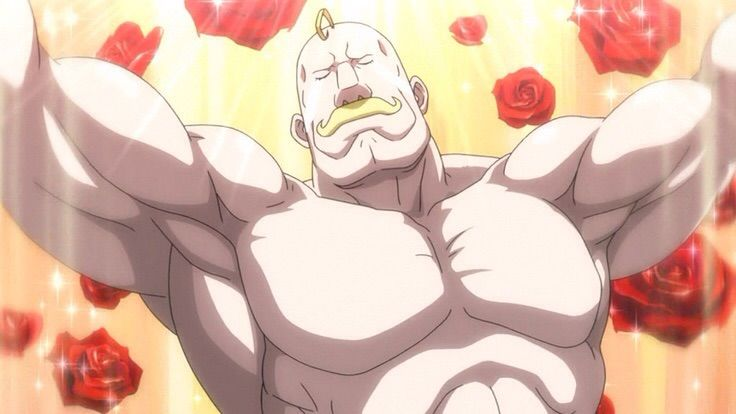 Alexis Louis Armstrong from Fullmetal Alchemist