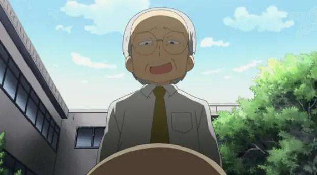 Principal Shinonome From Nichijou