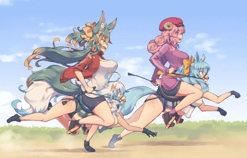Anime Horse Girls (1)
