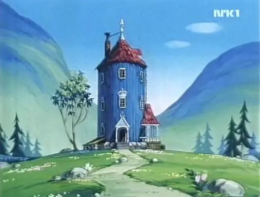 Moomin Family House From Tanoshii Muumin Ikka