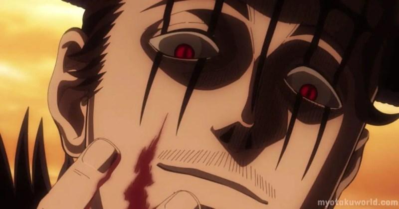 Dante from Black Clover