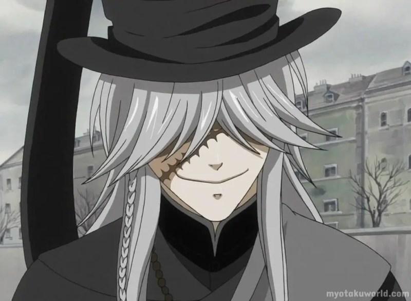 Black Butler Character Undertaker
