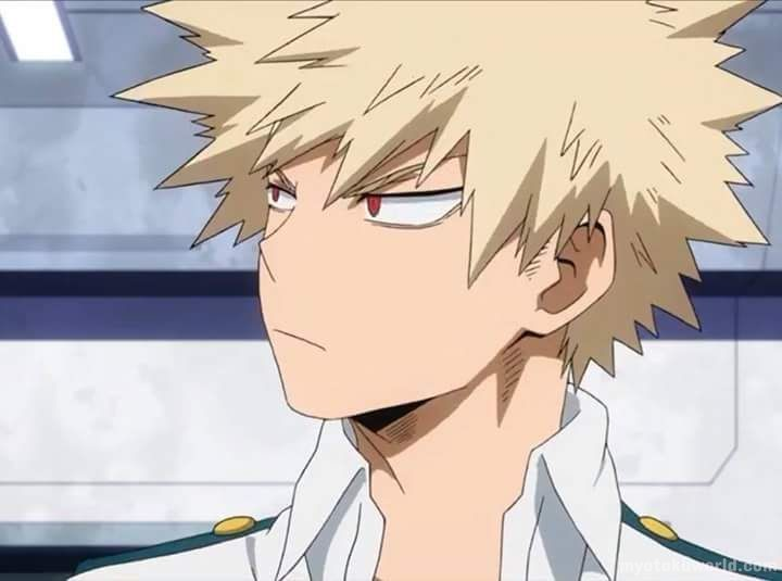 Katsuki Bakugou From Boku no Hero Academia