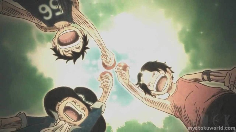 Monkey D. Luffy, Portgas D. Ace And Sabo (587)