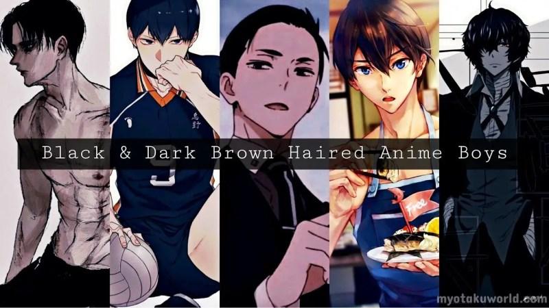 Black Haired Anime Boys