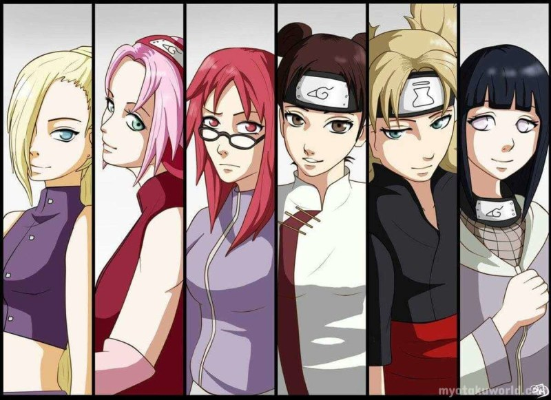Sexiest Naruto Female Characters