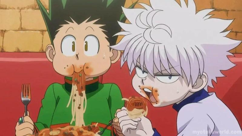 Friendships in Anime