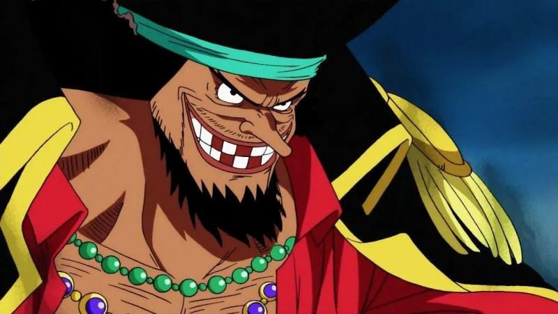 Marshall D. Teach From One Piece