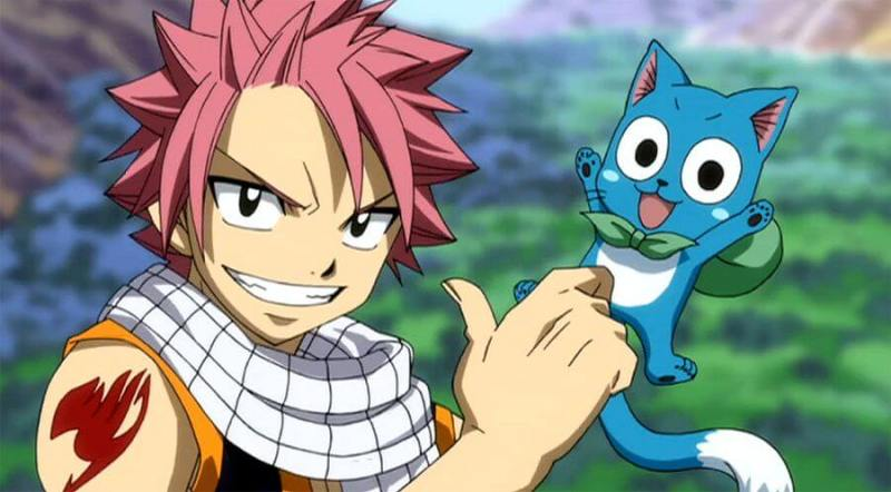 Natsu and Happy From Fairy Tail
