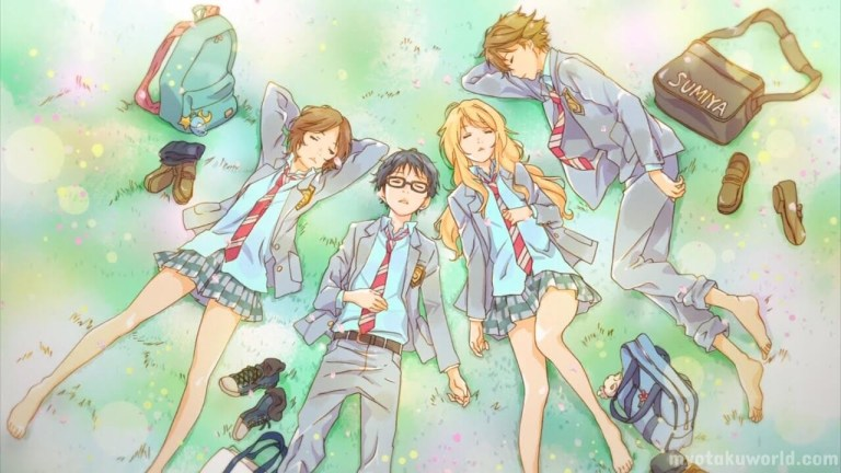 Your Lie in April Characters