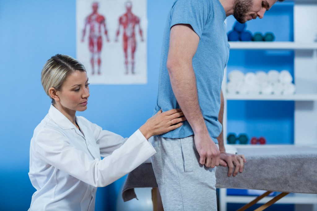 Myotherapy back pain