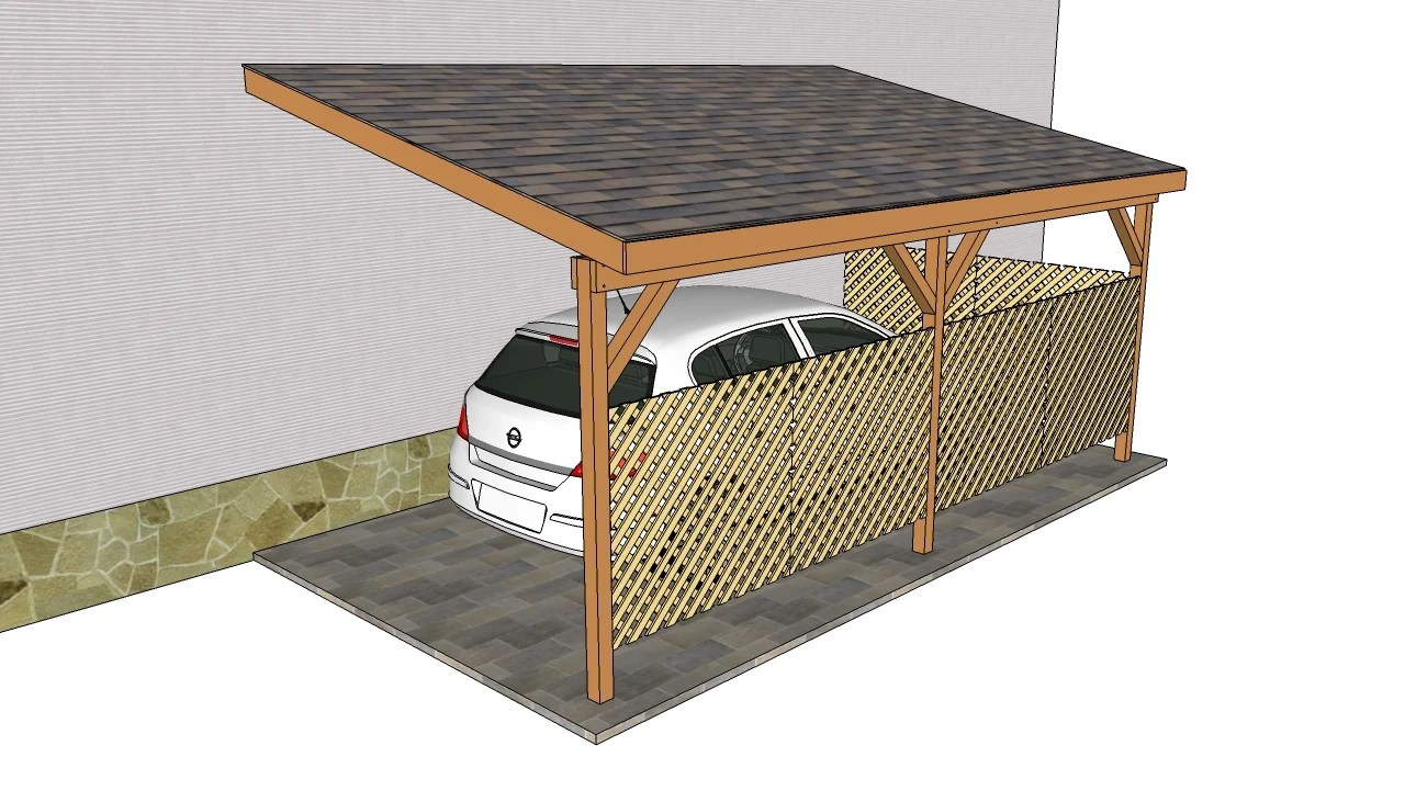 Attached Carport Plans Myoutdoorplans Free Woodworking Plans