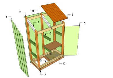 Free Outdoor Wood Shed Plans Woodworking Diy Projects