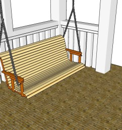 porch swing plans free [ 1280 x 731 Pixel ]