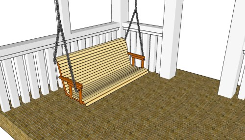 small resolution of porch swing plans free