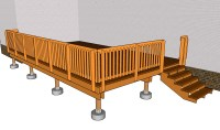 Deck Railing Plans | Free Outdoor Plans - DIY Shed, Wooden ...