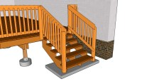 Deck Railing Plans | MyOutdoorPlans | Free Woodworking ...