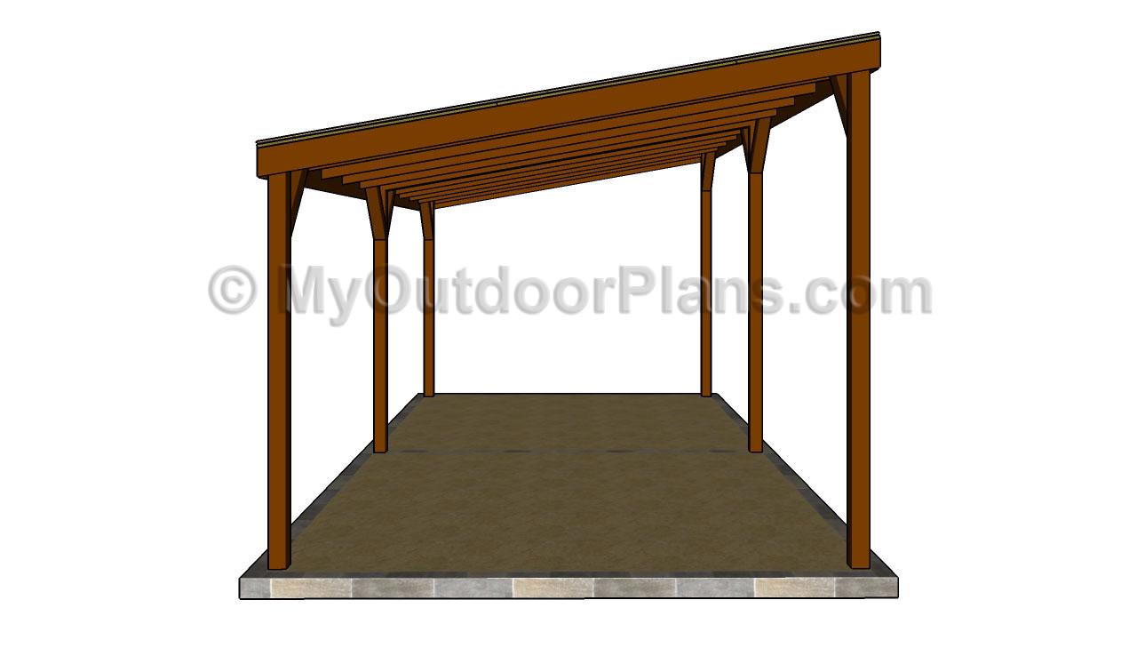 carport plans wood