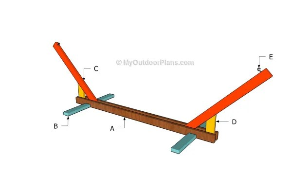 PDF Plans Wooden Hammock Stand Diy Download small wooden ...