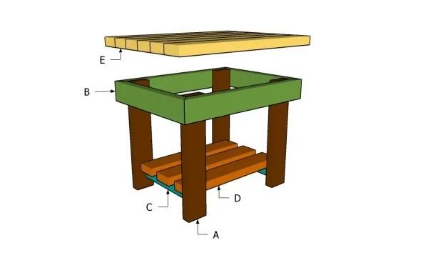 End Table Design Plans Free