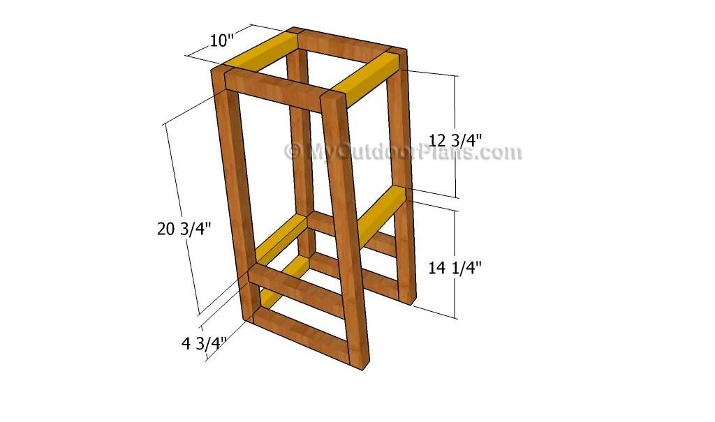 Build Diy Plywood Bar Stools Plans Pdf Plans Wooden