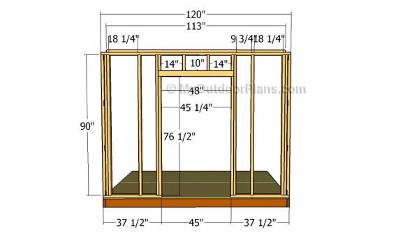 Diagram Of Garage Door Components Diy Shed Plans Myoutdoorplans Free Woodworking Plans