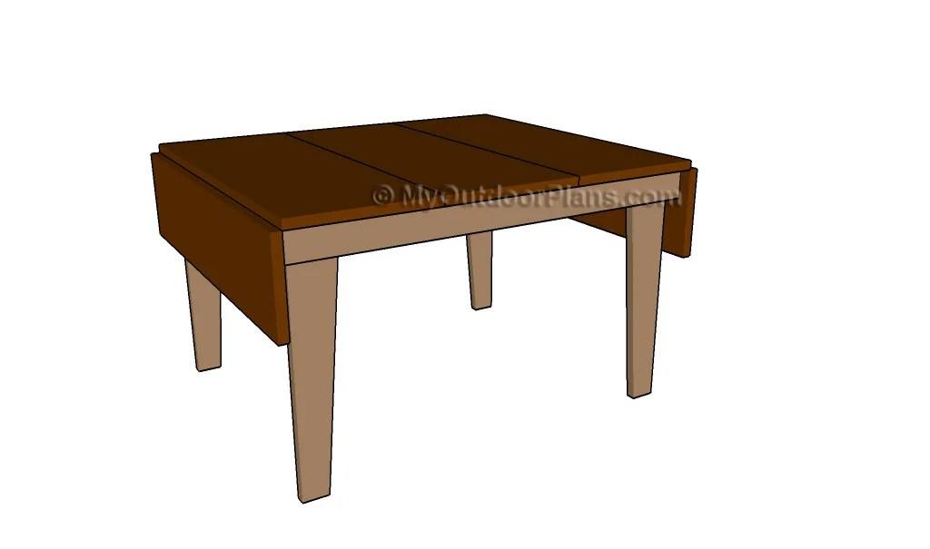 Drop leaf Table Plans