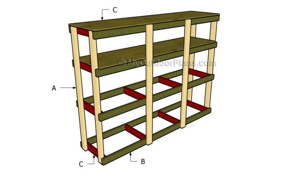 How To Build Garden Shelves Myoutdoorplans Free