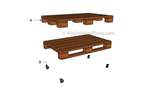 How to Build Pallet Coffee Table Diy Plans PDF Plans