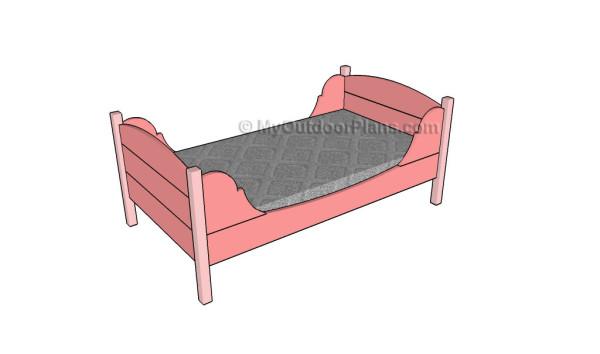 Toddler Bed Plans Myoutdoorplans Free Woodworking