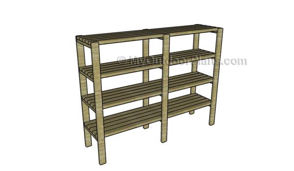 2×4 Lumber Rack