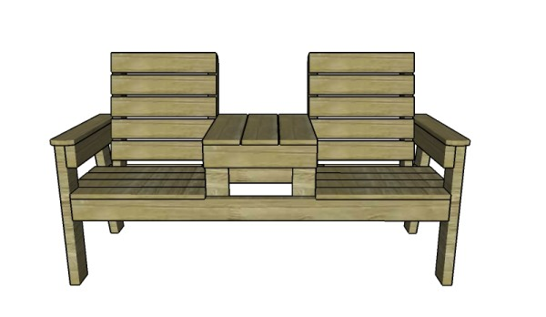 adirondack chair blueprints world market chairs peacoat double bench with table plans | myoutdoorplans free woodworking and projects, diy ...