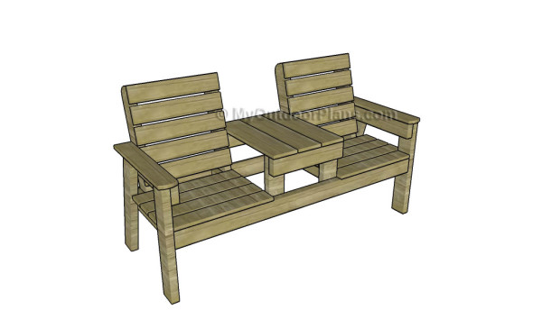 Jack And Jill Garden Bench