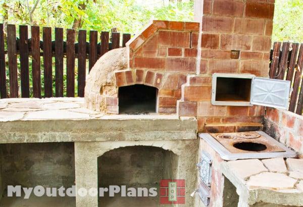DIY Pizza Oven  MyOutdoorPlans  Free Woodworking Plans