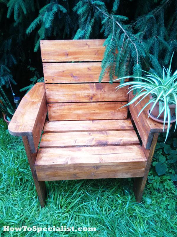 Diy Garden Chair Myoutdoorplans Free Woodworking Plans