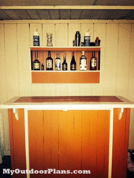 Diy Outdoor Bar Myoutdoorplans Free Woodworking Plans