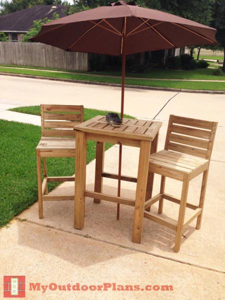 DIY Bar Stool Plans  MyOutdoorPlans  Free Woodworking