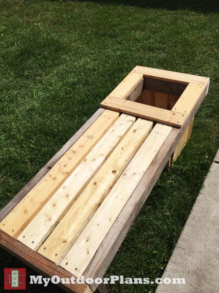 Diy Planter Bench Myoutdoorplans Free Woodworking